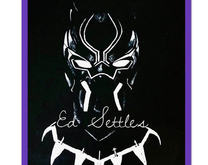 T'Challa Black Panther Avenger Wakanda Comic Painting (Copy) / 16x24