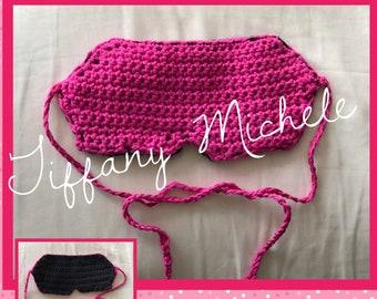 Eyemask Sleep Wear / Crochet / Handmade