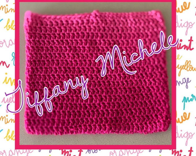 Crochet Pink Ombre Heating Cooling Cover / Handmade