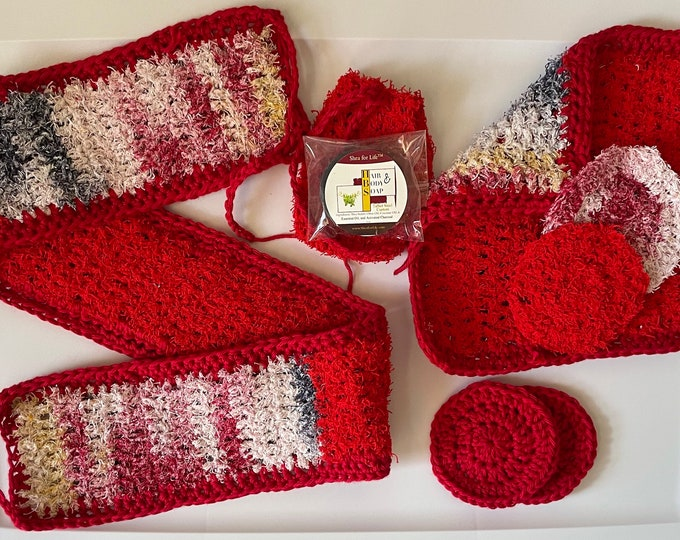 Crochet Spa Gift Set