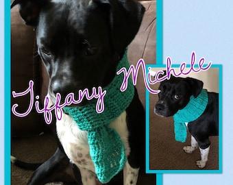 Crochet Dog Scarf / Handmade