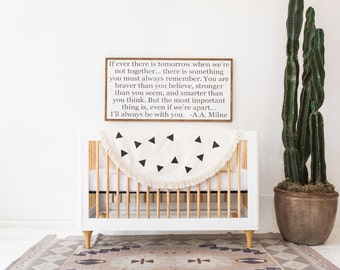 Braver Than You Believe - wood sign