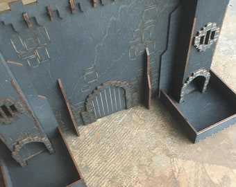 Dice corral add ons for your Castle DM screen