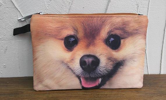Pomeranian Pouch Dog Pouch Dog Purse Dog Clutch Dog Lover Etsy