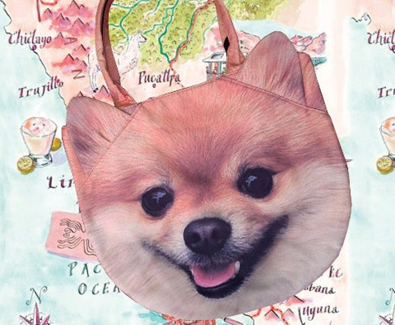 Pomeranian Dog Bag Dog Purse Dog Shoulder Bag Pet Bag Pet Etsy