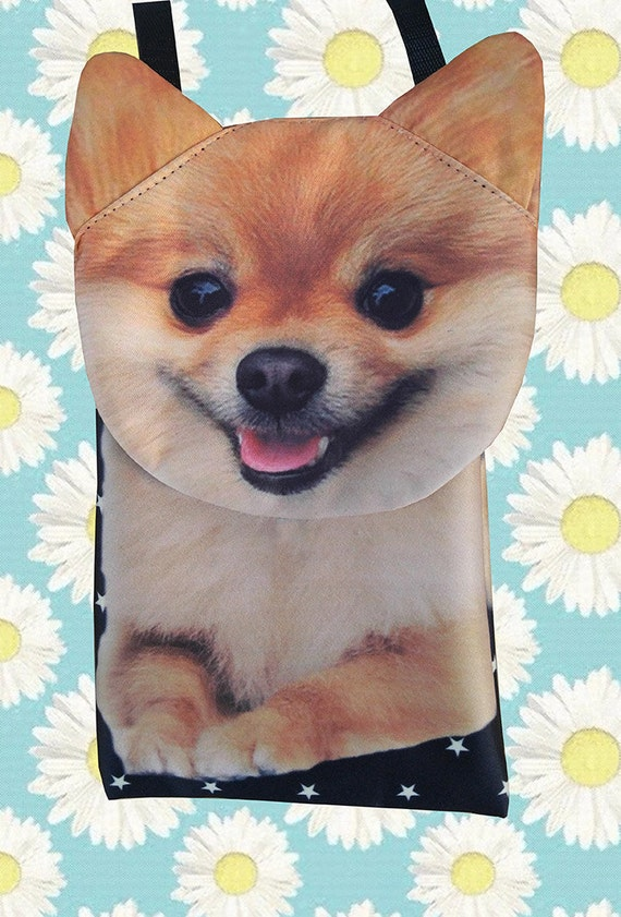 iPhone 5 or 6 bag dog purse iPhone 4s bag SP-02 phone bag phone case Yorkshire Terrier Note 3 bag