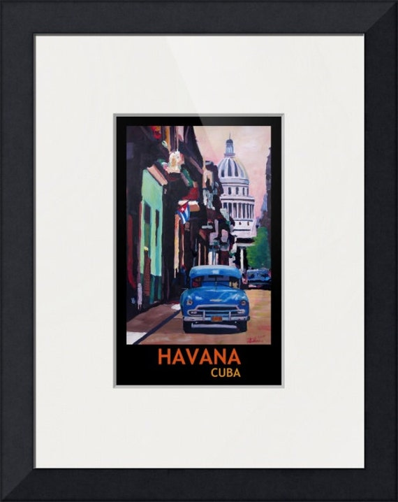 A4 Original Photo Print:Cuba Havana Street Car Chevrolet *DISCOUNTED OFFE A3