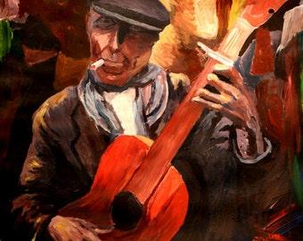 The Guitarrero - Limited Edition Fine Art Print