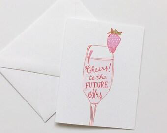 The Future Mrs-Bridal Shower Card-Future Bride