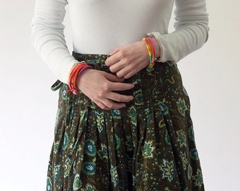 Colorful bracelet, friendship bracelet, fiber art jewelry, fiber bracelet, OOAK