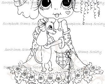 Instent download Digital Digi Stamps My Besties TM Big Eye Big Head Dolls Digi IMg705 By Sherri Baldy