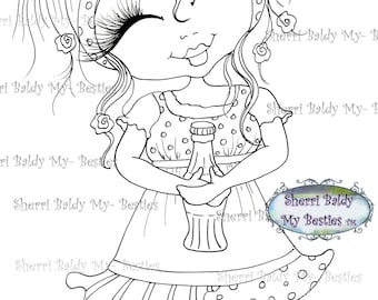 INSTANT DOWNLOAD Digital Digi Stamps Big Eye Big Head Dolls Bestie New Bestie img049 My Besties By Sherri Baldy