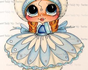 Télécharger INSTANT Digi Digital 5 timbres grands oeil grosse tête poupées Digi IMG384 par Sherri Baldy