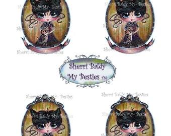 INSTANT DOWNLOAD Digital Oct 1 Color Printable My Besties By Sherri Baldy