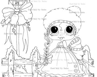 SOFORTIGER DOWNLOAD Digi Stamps Big Eye Großkopf Dolls Digi Bestie IMG100011 von Sherri Baldy