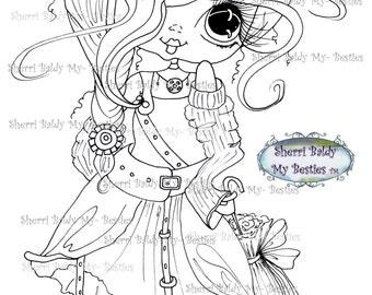 INSTANT DOWNLOAD Digital Digi Stamps Big Eye Big Head Dolls Bestie New Bestie Img618 My Besties By Sherri Baldy