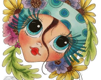 INSTANT DOWNLOAD Digital Digi Stamps Big Eye Big Head Dolls NEW Besties Scan0001My Besties By Sherri Baldy