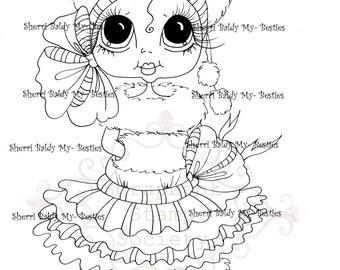 INSTANT DOWNLOAD Digital Digi Stamps Big Eye Big Head Dolls  My Besties Digi Img848 By Sherri Baldy
