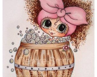 INSTANT DOWNLOAD Digital Digi Stamps Big Eye Big Head Dolls NEW Bearral Bath Bestie Img669 My Besties By Sherri Baldy