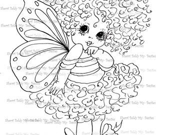 INSTANT Télécharger numérique Digi Stamps ventru grosse tête poupées Digi IMG076 par Sherri Baldy