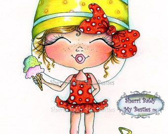INSTANT DOWNLOAD Digital Digi Stamps Big Eye Big Head Dolls NEW Sweet Treats Besties Img657 My Besties By Sherri Baldy