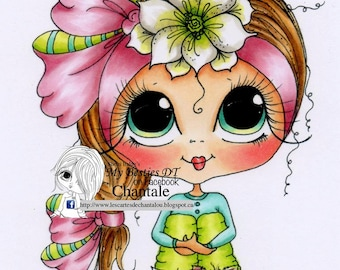 INSTANT DOWNLOAD Digital Digi Stamps Big Eye Big Head Dolls NEW Besties img707 My Besties By Sherri Baldy
