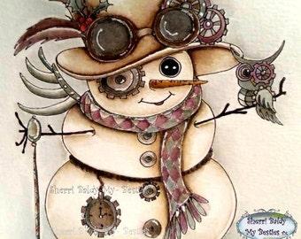 INSTANT DOWNLOAD Digital Digi Stamps Big Eye Big Head Dolls NEW Bestie  Img781 My Besties By Sherri Baldy