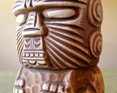 """1960s - 1970s Trader Dick's """"Peanut""""  Lined Face OMC Mug"""