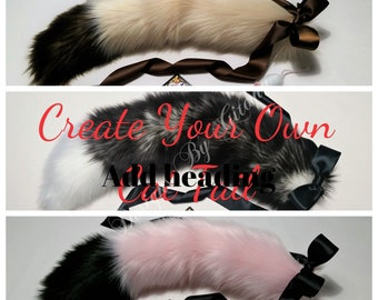 Cat Ears And Tail Etsy