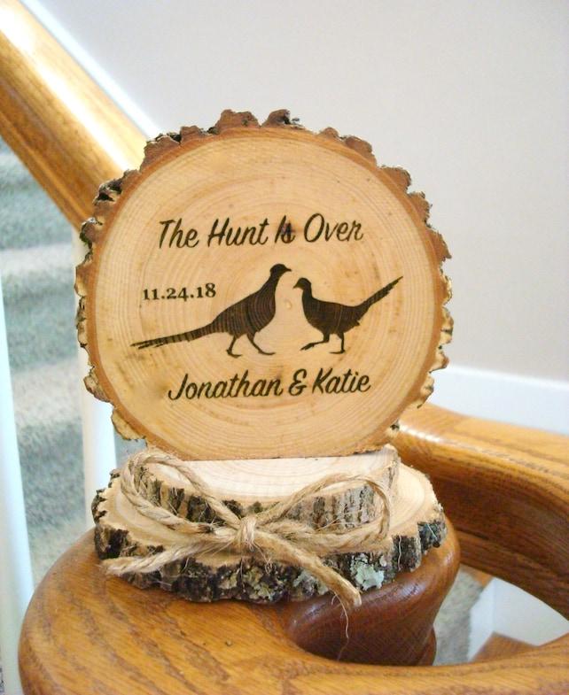 Wedding Cake Topper Pheasant Hunting Pheasant Cake Topper | Etsy