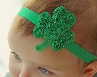 St Patricks Day Headband Set Baby Headband Set Newborn Headband Baby Headband Infant Headband St Patricks Headbands Headband Gift Set