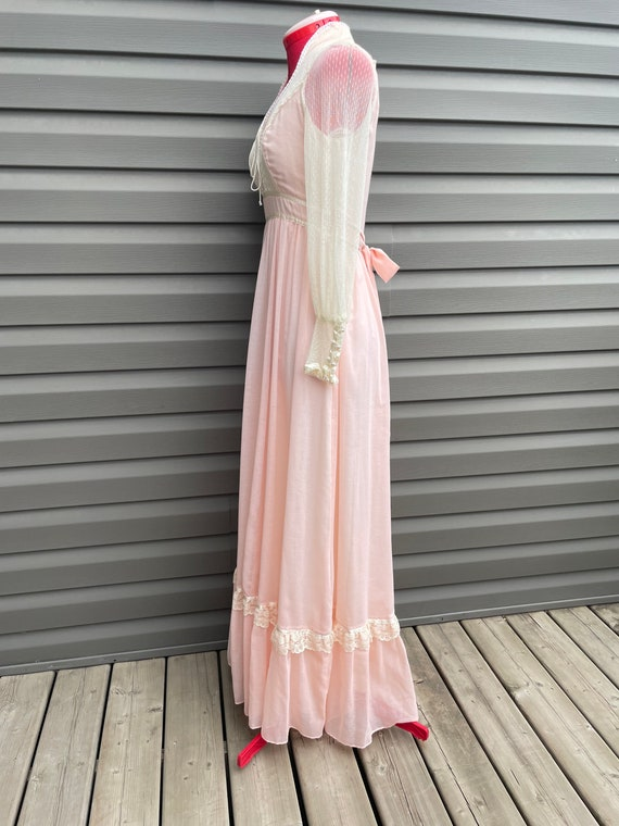 1970s Gunne Sax size 9 romantic bridal collection… - image 6