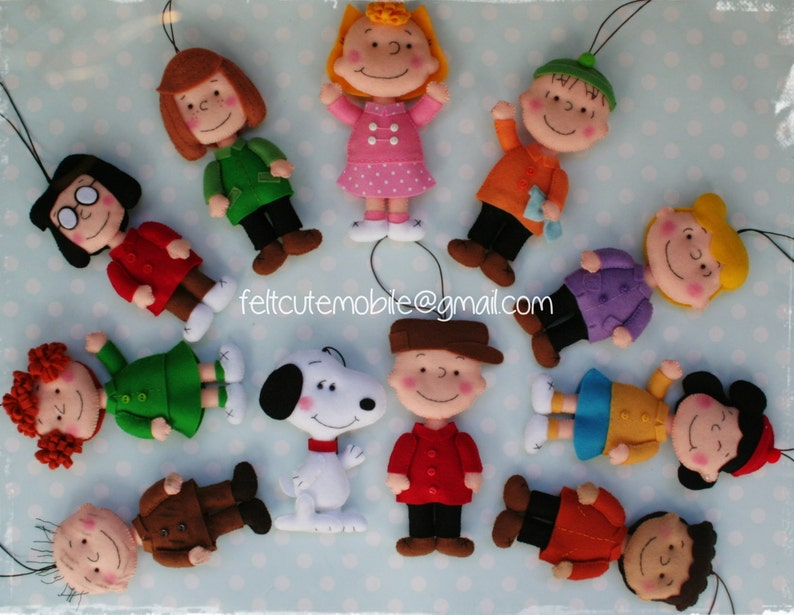 Peanuts Doll Handmade Girl Doll Decoration Snoopy Charlie Etsy