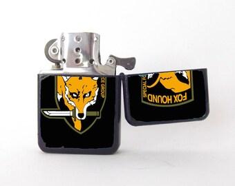 Fox Terrier Emblem Windproof Petrol Lighter FREE ENGRAVING Personalised Gift 143 Pozostałe