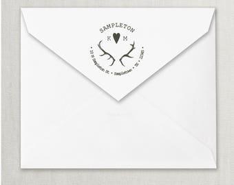 Custom Address Stamp for Sonya