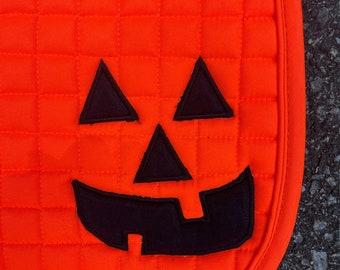 Halloween saddle pad