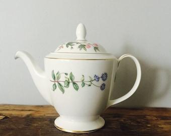 """Minton """"Meadow"""" Bone China Teapot"""