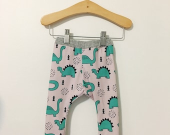 Walk Like a Dinosaur Baby and Toddler Pants