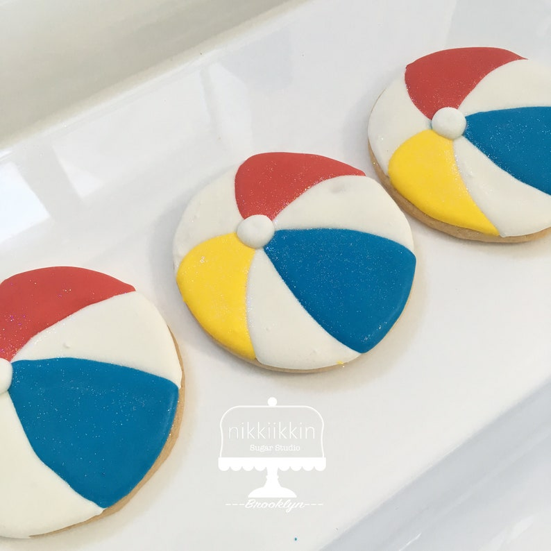 Beach Ball Cookies image 0