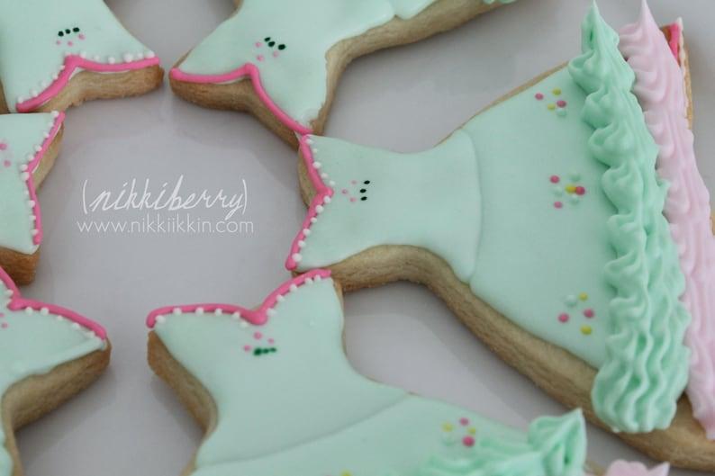 Sugar Plum Fairy Dress Cookie From The Nutcracker Ballet