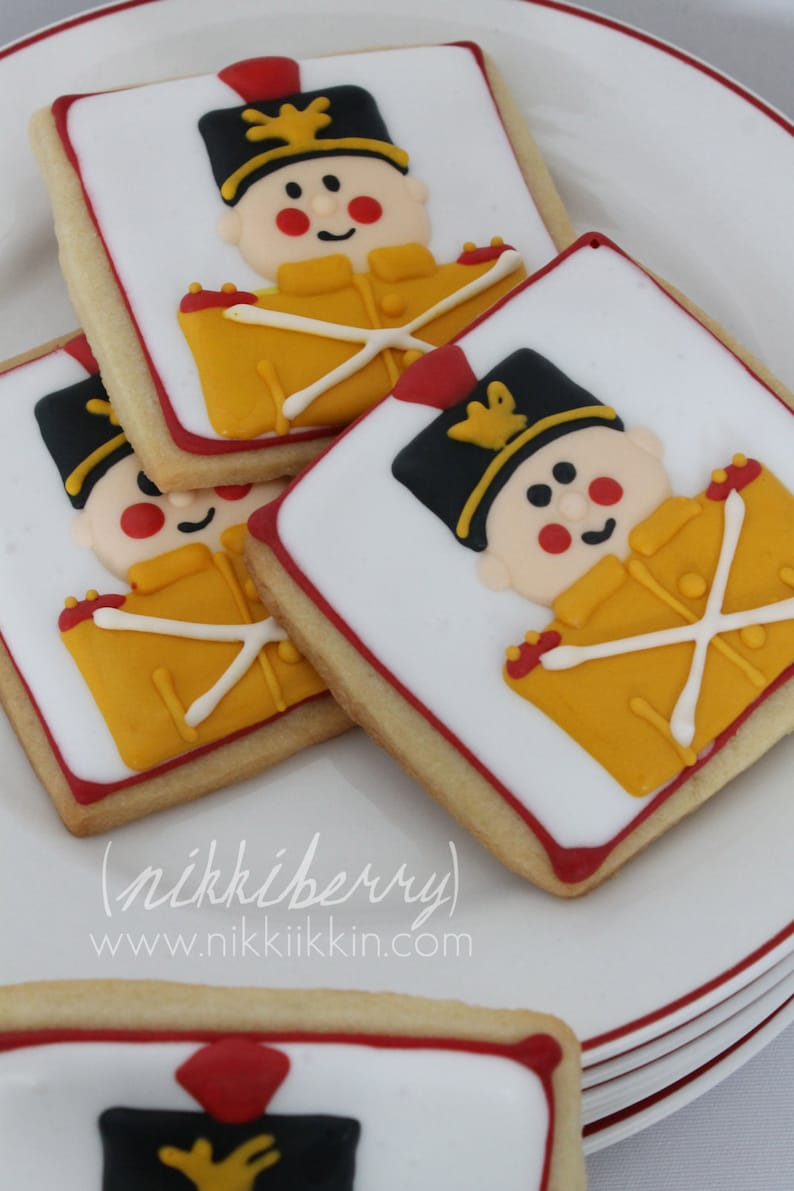 Toy Soldier Cookie From The Nutcracker Ballet