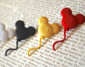 Mickey Mouse Earrings -- Mickey Mouse, Little Mouse Ears, Choose your favorite color!