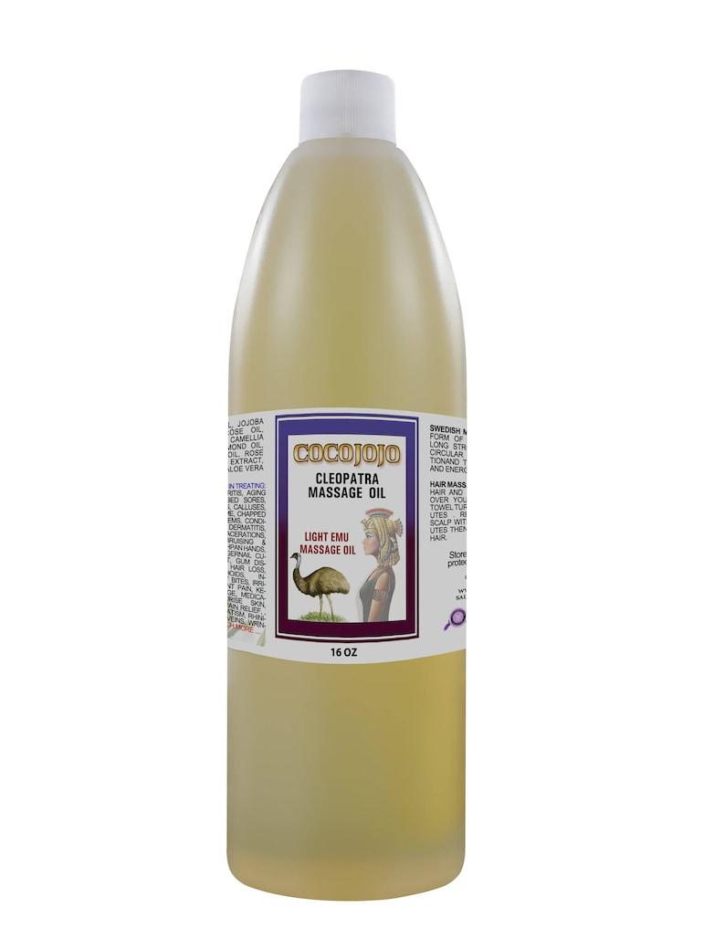 Light Emu Oil Massage Blend 100% All Natural and Organic