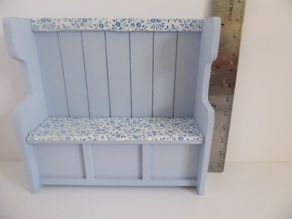 Kitchen Storage Bench For 1 12th Dolls House