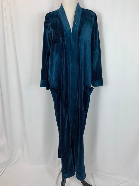 Vintage Christian Dior Velvet Robe