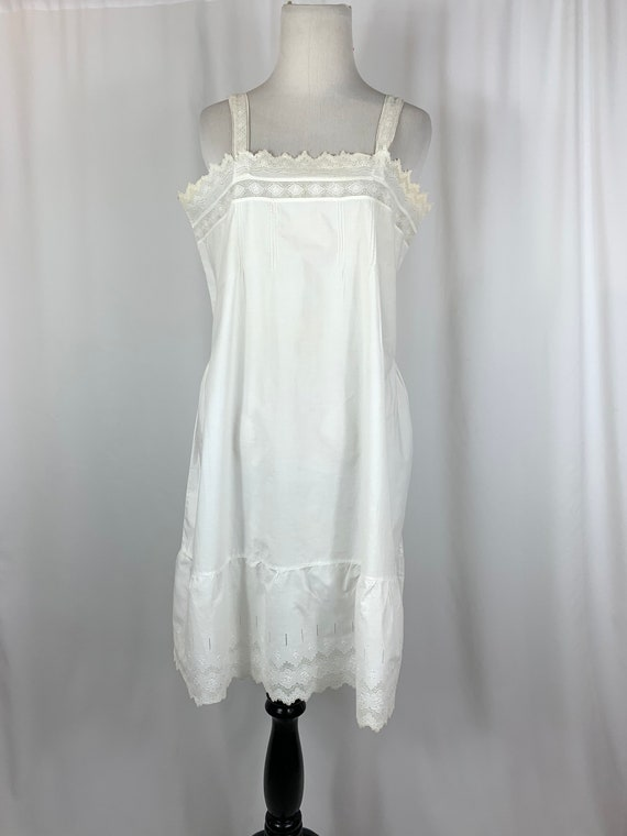 Antique 1920s Cotton Nightgown