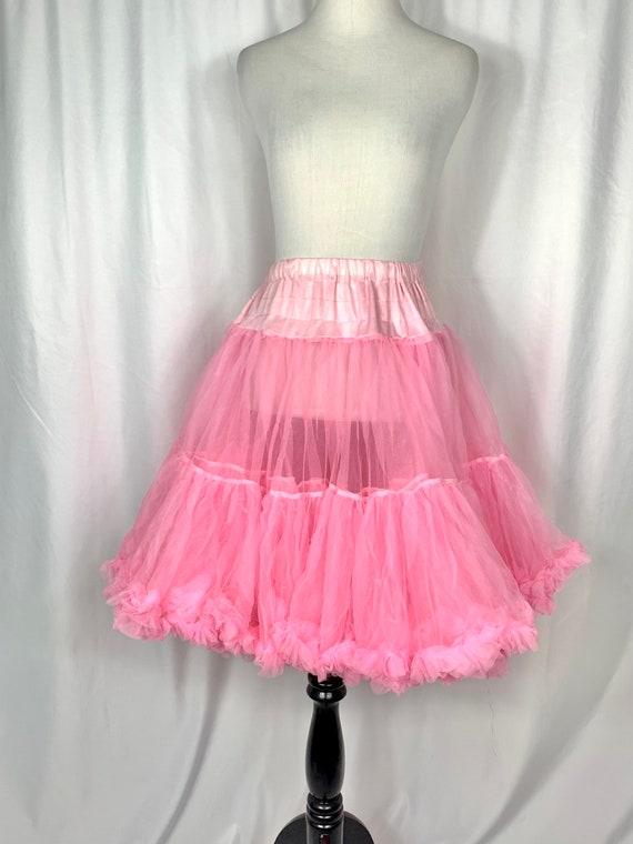 Vintage Bubblegum Pink Tulle Circle Skirt - image 1