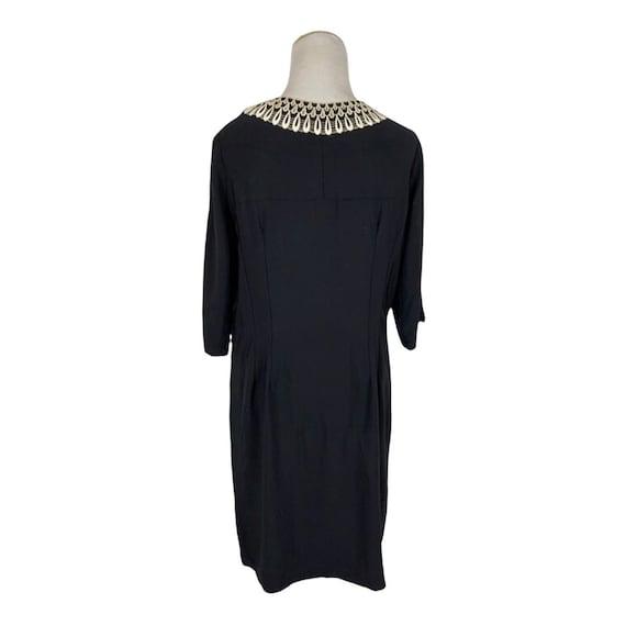 Vintage 1940s Handmade Rayon Dress - image 3