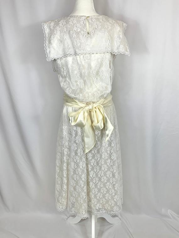 Vintage Gunne Sax Lace Dress - image 3