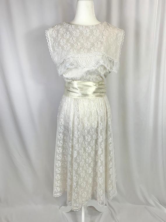 Vintage Gunne Sax Lace Dress - image 1